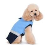 View Image 4 of PuppyPAWer Car Sweater Dog Sweater by Dogo - Blue