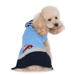 View Image 2 of PuppyPAWer Car Sweater Dog Sweater by Dogo - Blue