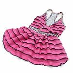 View Image 4 of PuppyPAWer Party Nite Dress by Dogo - Pink