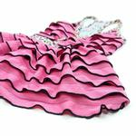 View Image 3 of PuppyPAWer Party Nite Dress by Dogo - Pink