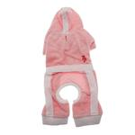 View Image 1 of PuppyPAWer Terry Hoody Jumper by Dogo - Pink