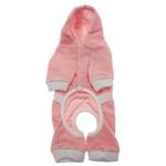 View Image 2 of PuppyPAWer Terry Hoody Jumper by Dogo - Pink