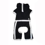 View Image 1 of PuppyPAWer Terry Hoody Jumper by Dogo - Black