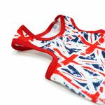 View Image 3 of PuppyPAWer Union Jack Dog Tank by Dogo