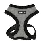 View Image 1 of Puppytooth Dog Harness By Puppia - Black