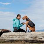 View Image 3 of Quick Grab Dog Treat Bag - Heather Black