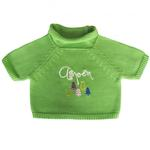 View Image 1 of Aspen Dog Sweater by Beverly Hills Dog - Green