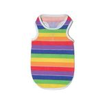 View Image 1 of Rainbow Dog Tank Top by Dogo