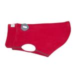 View Image 1 of RC Pet Baseline Fleece Dog Pullover - Red and Gray