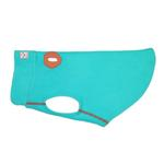 View Image 1 of RC Pet Baseline Fleece Dog Pullover - Teal and Orange