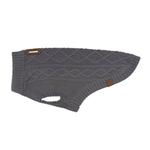 View Image 1 of RC Pet Cable Dog Sweater - Charcoal