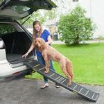 View Image 6 of Reflective Pet Ramp - Black