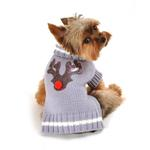 View Image 3 of Reindeer Dog Sweater by Hip Doggie
