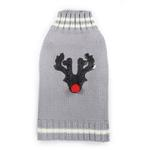 View Image 1 of Reindeer Dog Sweater by Hip Doggie