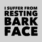 View Image 2 of Resting Bark Face Dog Shirt - Gray