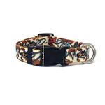 View Image 1 of Retro Cowboy Dog Collar by Yellow Dog