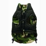 View Image 3 of Reversible Camo Puffer Dog Vest by Hip Doggie