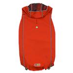 View Image 1 of Reversible Elasto-Fit Dog Raincoat - Scarlet Red