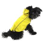 View Image 5 of Reversible Elasto-Fit Dog Raincoat - Yellow