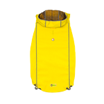 View Image 1 of Reversible Elasto-Fit Dog Raincoat - Yellow