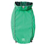 View Image 1 of Reversible Elasto-Fit Dog Raincoat - Green