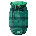 View Image 3 of Reversible Elasto-Fit Dog Raincoat - Green