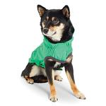 View Image 2 of Reversible Elasto-Fit Dog Raincoat - Green
