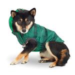 View Image 4 of Reversible Elasto-Fit Dog Raincoat - Green