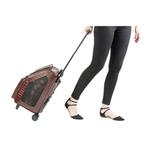 View Image 2 of Rio Rolling Dog Backpack Carrier - Brown Croco