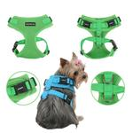 View Image 2 of Ritefit Soft Dog Harness by Puppia - Green