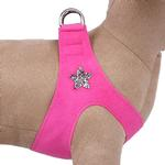 View Image 1 of Rock Star Step-In Dog Harness by Susan Lanci - Sapphire Pink