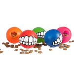 View Image 1 of Rogz Grinz Ball Dog Toy