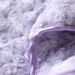 View Image 2 of Rosebud Pet Blanket by Hello Doggie - Lilac