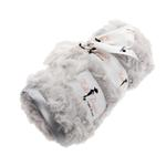 View Image 1 of Rosebud Pet Blanket by Hello Doggie - Silver