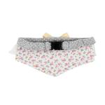 View Image 2 of Rosetta Cat Collar Scarf by Catspia - Gray