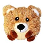 View Image 1 of Roundimal Squeaky Dog Toy - Bear