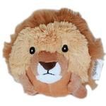 View Image 1 of Roundimal Squeaky Dog Toy - Lion