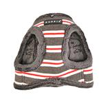 View Image 5 of Rowdy Vest Dog Harness by Puppia - Dark Gray