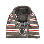 View Image 1 of Rowdy Vest Dog Harness by Puppia - Dark Gray
