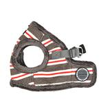 View Image 3 of Rowdy Vest Dog Harness by Puppia - Dark Gray