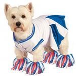 View Image 1 of Rubie's Cheerleader Halloween Dog Costume - Blue