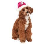 View Image 1 of Rubie's Santa Dog Hat - Hot Pink