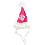 View Image 3 of Rubie's Santa Dog Hat - Hot Pink