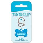 View Image 3 of Rubit Bone Dog Tag Clip - Silver