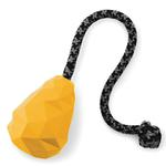 View Image 3 of Huck-a-Cone Interactive Natural Rubber Dog Toy by RuffWear- Dandelion Yellow