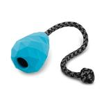 View Image 1 of Huck-a-Cone Interactive Natural Rubber Dog Toy by RuffWear - Metolius Blue