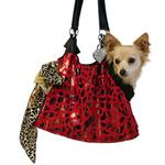 View Image 2 of RunAround Dog Tote Carrier - Red