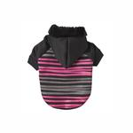 View Image 1 of Safari Dog Hoodie - Pink & Black