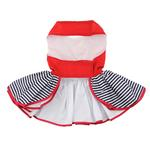 View Image 2 of Sailor Girl Dog Harness Dress by Doggie Design