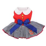 View Image 1 of Sailor Girl Dog Harness Dress by Doggie Design